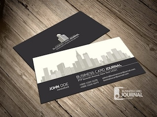 Property business card template