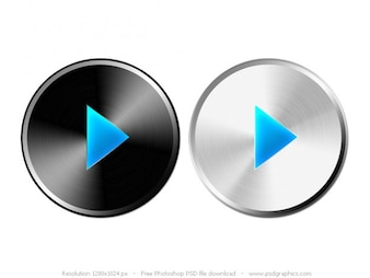 PSD play button