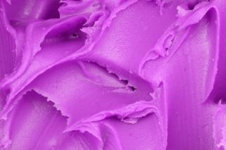 purple icing texture  carbs