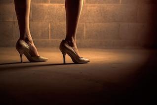 Purpurin heels