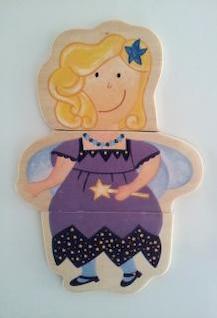 puzzle figurine  fairy