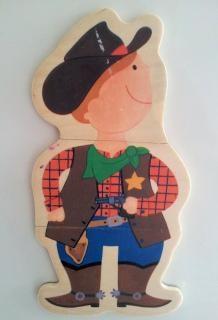 puzzle figurine  figurine