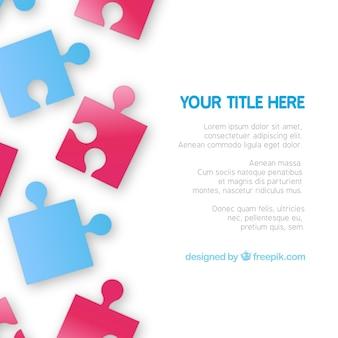 Puzzle pieces template