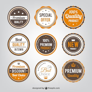 Quality badges collection