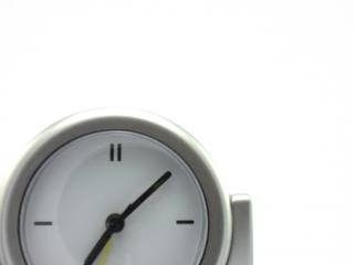 Quartz clock, chrome