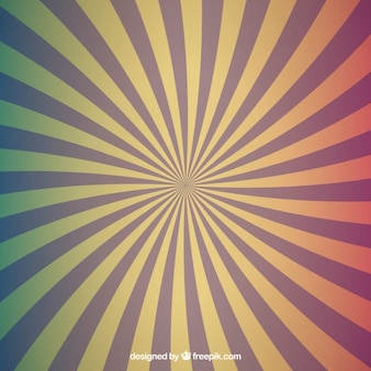 Radial colors of backgrounds set