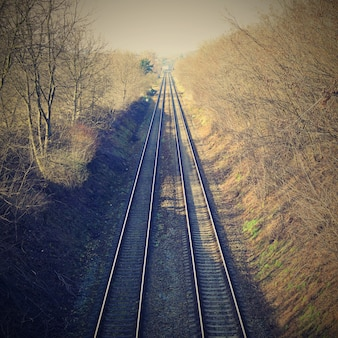 Railroads in rural place