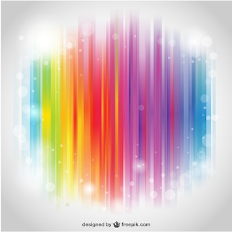 Rainbow stripes desktop
