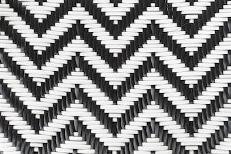 Rattan black and white background.