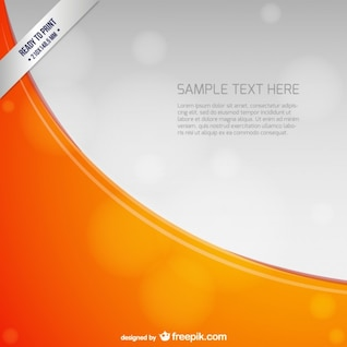 Ready to print background template