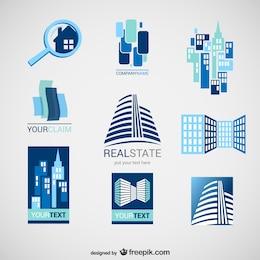 Real state logos pack