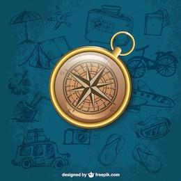 Realistic compass