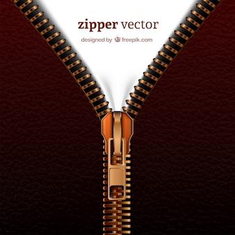 Realistic zipper
