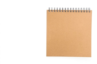 Recycled paper notebook