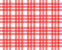 red and white tablecloth pattern  squares