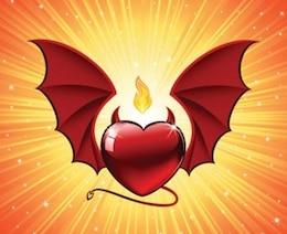 Red devil valentines day