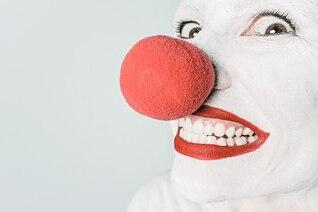 Red false nose