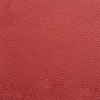 Red leather macro shot