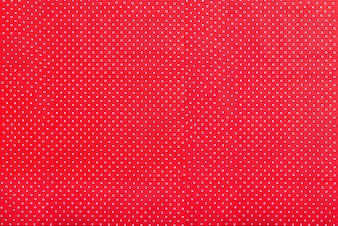 Red texture with white dots