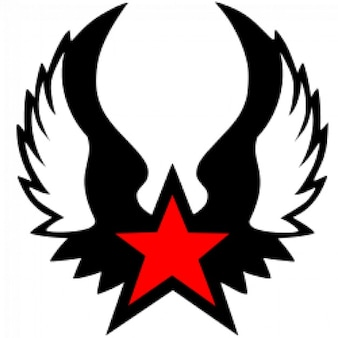 Red winged star (Estrella roja alada)