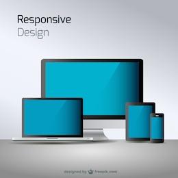 Responsive web design technology