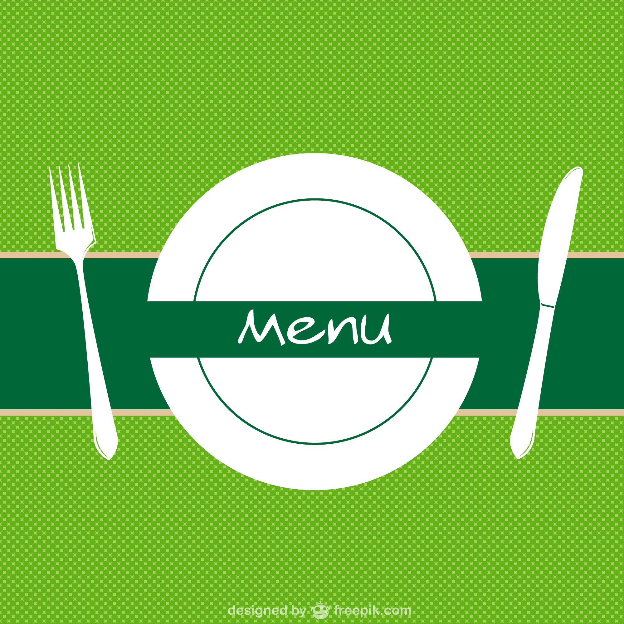 Restaurant menu background vector