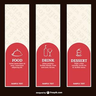 Restaurant menu labels