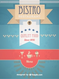Retro Bistro Menu Design