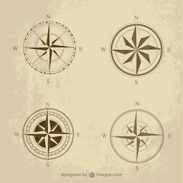 Retro compass pack