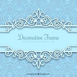 Retro decorative frame