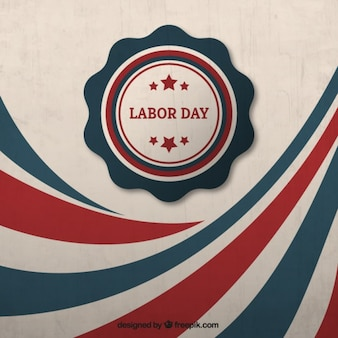 Retro labor day background