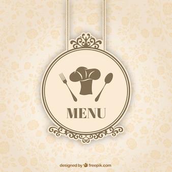 Retro menu badge