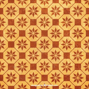 Retro pattern in mosaic style