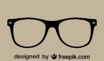 Retro Vector Glasses