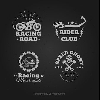 Rider club badges