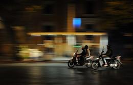 Riding at night