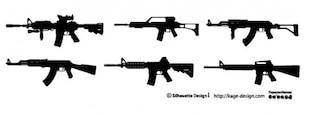 rifle. weapon.