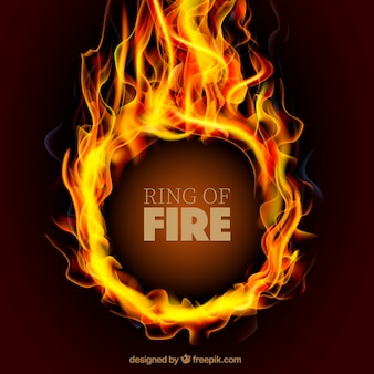 RIng on fire