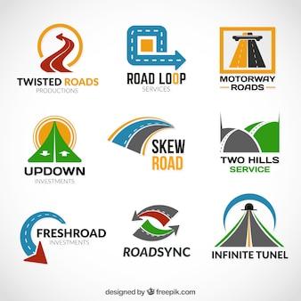 Road logos