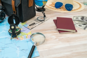 道路財布地マップの観光