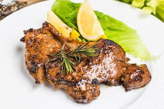 Roast steak