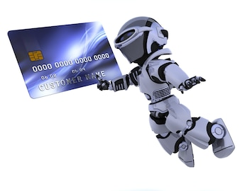 Robot and charge card