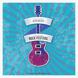 Rock festival poster