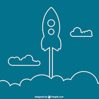 Rocket outline