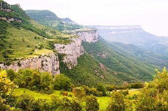 Rocky mountains landscape. Collsacabra
