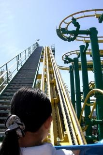 Roller Coaster, steep