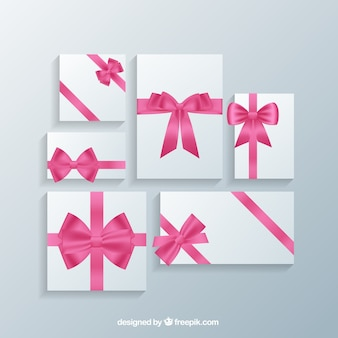 Romantic gift cards templates