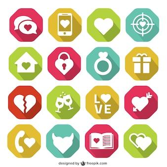 Romantic icons