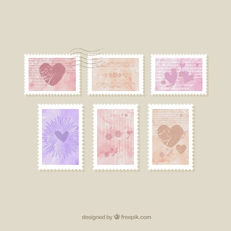 Romantic Stamps