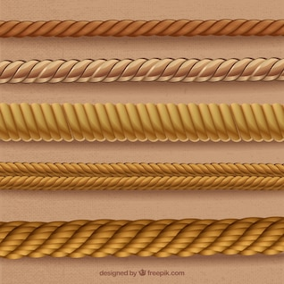 Ropes in spiral forms